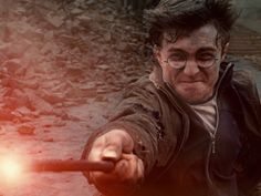 DANIEL RADCLIFFE as Harry Potter in Warner Bros. Pictures' fantasy adventure 'HARRY POTTER AND THE DEATHLY HALLOWS PART 2'