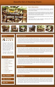 Template #1145 Luxury, Wood Grain Tones