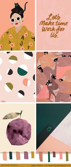 A true autumnal palette for you in todays colour crush post, featuring deep forest greens with pumpkin, tobacco and rust tones. Street Art Graffiti, Nature Color Palette, Color Palettes, Neon Colour Palette, Wallpapers Funny, Poster Graphics, Illustration Mode, Retro Illustrations, Jolie Photo