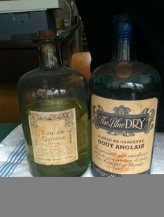 very vintage gin tonic
