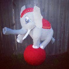 Circus elephant pinata!