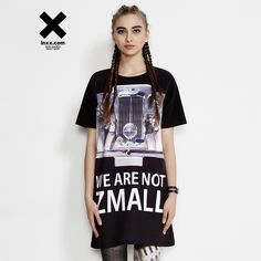 [INXX] ZIZTAR nou lung T-shirt rochie ZT52016721 Lunges, Tops, Women, Fashion, Moda, Fashion Styles, Shell Tops, Fashion Illustrations, Fashion Models