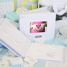 baby shower guest book, love this idea