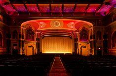 The auditorium of Milwaukee's Oriental Theater - gorgeous!