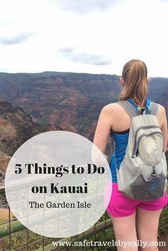 5 Things to Do on Kauai: The Garden Isle. Including: tubing, helicoptering, Waimea Canyon, Napali Coast Sunset Cruise and the Tree Tunnel. Travel Inspiration, Travel Ideas, Travel Hacks, Travel Advice, Travel Tips, Napali Coast, Hawaii Travel Guide, Waimea Canyon, Hawaii Vacation