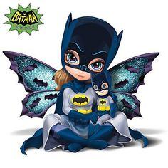 Fairy Pictures, Fairy Figurines, Fairy Art, Cute Dolls, Batgirl, Big Eyes, Mosaic Art, Cute Art, Fantasy Art