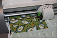 how to cut out fabric on cricut and make a cute custom shirt.