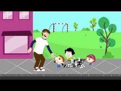 ▶ Jugando en la calle | JotaJota quiere aprender seguridad vial - YouTube