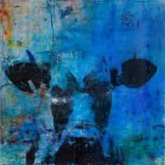 Norm Yip Lust, 2013 Acrylic and dye transfer on canvas. 1000mm x 1000mm   Lust is the one of seven deadly sins, which is represented by the cow, for being a shameless animal. On the upper right and lower left of the painting, are the Chinese words 欲望, the verb form of 'lust'. Written on the upper left side is the inscription 'They are in the very wrath of love, and they will together; clubs cannot part them', which is from As You Like It by William Shakespeare.