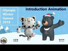 (KOR/ENG) PyeongChang 2018 First Episode of Mascot Animation Video _ 2018평창 마스코트 애니메이션(론칭편) - YouTube
