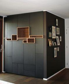 Our first Filip Janssens. Shelf Furniture, Furniture Design, Home Room Design, House Design, Wall Shelves Design, Storage Design, Interior Concept, Living Room Storage, Interior Decorating