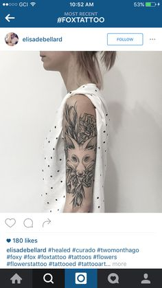 Fox half sleeve