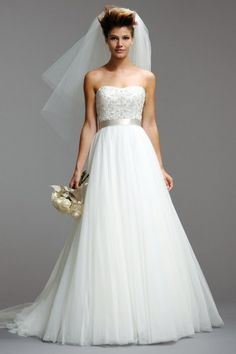 Loveliness: Watters Brides Ellery Gown Style 5073B   Watters.com