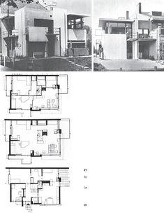 Gerrit Rietveld, The Rietveld Schröder House, Utrecht, 1924