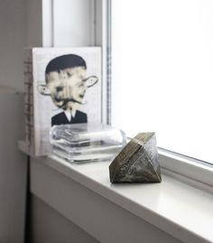 DIY: concrete diamond by AMM blog, via Flickr