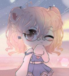 Anime Girl Drawings, Kawaii Drawings, Cute Drawings, Anime Wolf Girl, Anime Art Girl, Cute Anime Chibi, Kawaii Anime Girl, Iphone Wallpaper Fall, Friend Anime