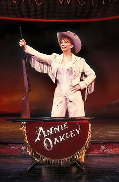 Would have loved to see Reba in Annie Get Your Gun