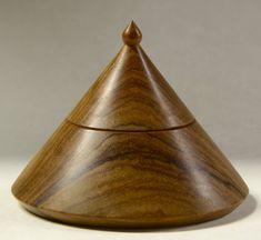 Olive Wood Turned Box by WoodturningCottage on Etsy