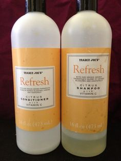 Where Nature Meets Street: Review: Trader Joe's Refresh Shampoo & Conditioner