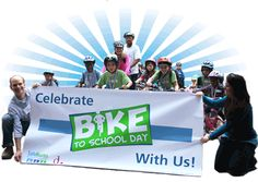 National Bike to School Day is coming up! Sign up now and join thousands of students all over the nation by biking to school on May 7th.