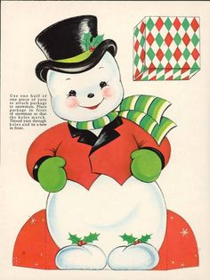Paper Dolls~Merry Christmas Fun - Bonnie Jones - Picasa Web Albums