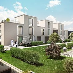 rendering of Seestern, for Credit Suisse AG and Sidenzia AG 3d Modellierung, Studios, Credit Suisse, 3d Rendering, Modern, Mansions, House Styles, Home Decor, Architecture