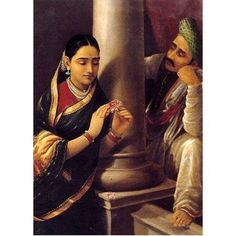 Stolen interview (Ravi Varma Print)