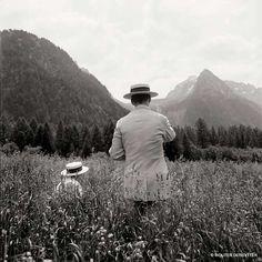 Wouter Deruytter - ANACHRONISM ABROAD McDermott & McGough: Road to Soglio, Switzerland, 1996