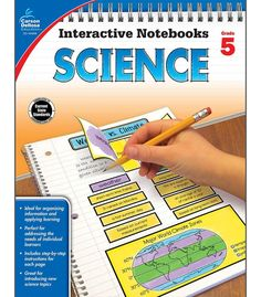 Time-Saving interactive notebook templates that allow students to show what they know! Interactive Notebooks: Science for fifth grade is a fun way to teach and reinforce effective note taking for stud