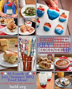 30 yummy Fourth of July recipes