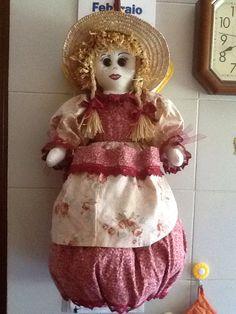 Bambola portaborsby Maria D'Eugenio  e