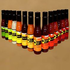 Buffalo Wild Wings Sauces for guy's gifts!