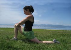 5 Stretches: After a Run  Kneeling Hip Flexor Stretch