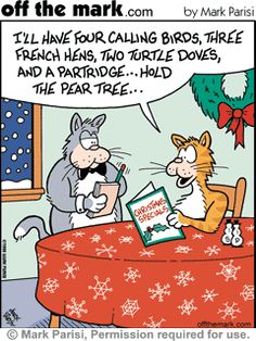 off the mark comic christmas - Google Search