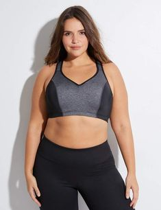 6968a17b88248 Lane Bryant High-Impact Molded Underwire Sport Bra. Supportive Sports  BrasUnderwire Sports BrasLane BryantPlus Size ...