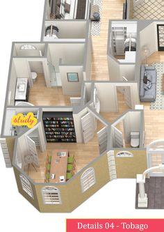 Details 04 - TOBAGO, Let's study! #realestate, #property, #floorplan, #home, #interior, #business, #study, #books, #computer, #decoration