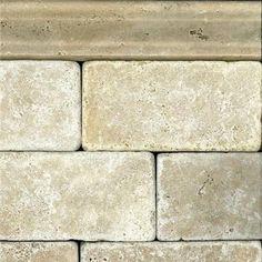 White Travertine Subway Tile  from Maestro Mosaics