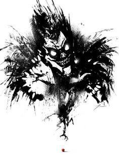 Death Note: Ryuk Fan Art - Imgur