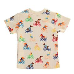 Ma Puce Tour De France Bicycle T Shirt by Tootsa MacGinty – Junior Edition