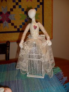 frolicking in art: Cage Doll