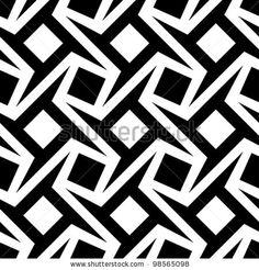 geometric seamless pattern by iconizer, via ShutterStock