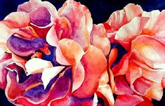 """Finished today (May 6/20) """"Unfolding"""" #watercolour on #Arches art board, 20x30"""" blassart.com **Message me for purchase details.** #art #artforyou #watercolor #painting #floral #flowers #CanadianArtist #womanartist #storyteller #jewonajourney #hopeaholic #artlover #artcollector #artbuyer #buyart #creative #mgrahampaints #artist Watercolor Paintings, Watercolours, Canadian Artists, Artist Art, Lovers Art, Art Boards, Storytelling, Buy Art, Floral Flowers"""