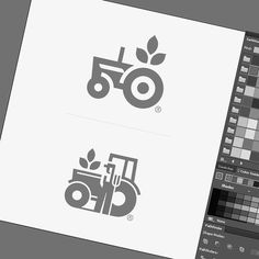 "4,084 Likes, 19 Comments - @logolearn on Instagram: ""Farming logo process by @kerovec_roko  Hashtag #logolearn to be featured!"""