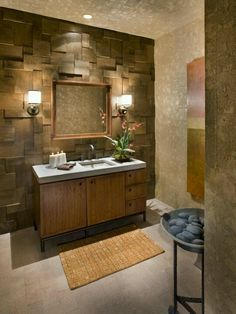 Love the textured wall
