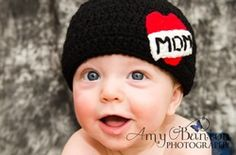 MOM tattoo Hat Free Pattern. Love it!