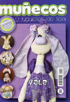 MUÑECOS Y JUGUETES DE TELA No. 54 - Marcia M - Álbuns da web do Picasa