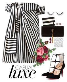 """"""", Top fashion set for June 12th, 2016"""" by gabyidc ❤ liked on Polyvore featuring Monse, Kate Spade, Yves Saint Laurent, Kimberly McDonald and NARS Cosmetics"""
