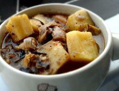 Urhobo pepper soup by Dooney