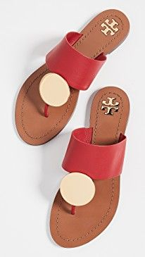 New Tory Burch Patos Disk Sandals. Stylish Sandals, Sandals For Sale, Comfortable Sandals, Flat Sandals, Slide Sandals, Flip Flop Sandals, Tory Burch Boots, Tory Burch Sandals, Beautiful Shoes
