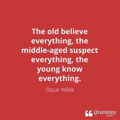 Oscar Wilde | http://quotesy.club
